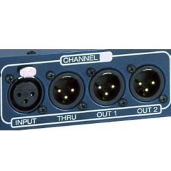 Palmer Audio Tools Palmer Pro PRMLS - Splitter de Línea de 4 Canales