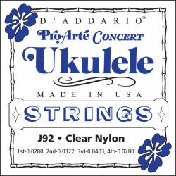D'Addario J92 Pro-Arte Ukulele Concert