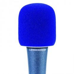 LD Systems D 913 - Pantalla antiviento para Micrófono azul