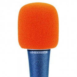 LD Systems D 913 - Pantalla antiviento para Micrófono naranja