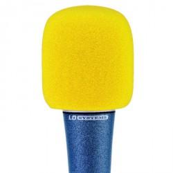 LD Systems D 913 - Pantalla antiviento para Micrófono amarilla