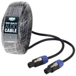 Adam Hall Cables Serie Liveline - Cable de Altavoz de SPKn 4 Pines a SPKn 4 Pines 2 m
