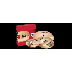 "SABIAN AAX Stage Performance Set + 18"" Crash"