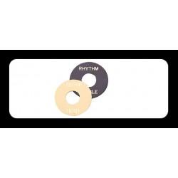 Retroparts RETROPARTS RP-131C Placa selector pastillas Les Paul, crema