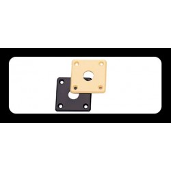 RETROPARTS RP-141C Placa jack Les Paul, crema