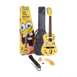 JHS Bob Esponja Pack De Guitarra Clásica Junior BOB ESPONJA (Tamaño Medio)