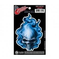Planet Waves PlanetWaves Blue Flame Skull