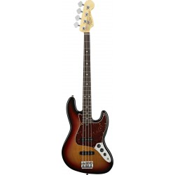 Fender American Standard Jazz Bass  3 Colour Sunburst RW