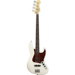 Fender American Standard Jazz Bass  Olympic White RW