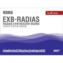 Korg EXB RADIAS