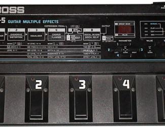 Boss ME-5 Guitar Multiple Effects