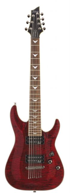 Schecter OMEN EXTREME-7 RUBY