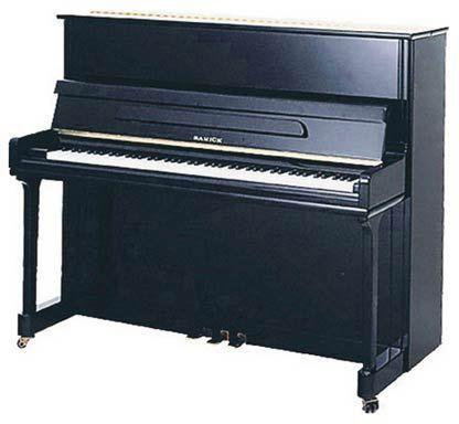 Samick Pianos SAMICK PIANOS JS-121 negro poliester