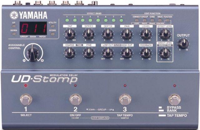 Yamaha UD-Stomp Modulation Delay