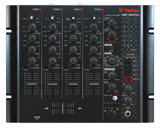 Vestax VCM-004 FXu