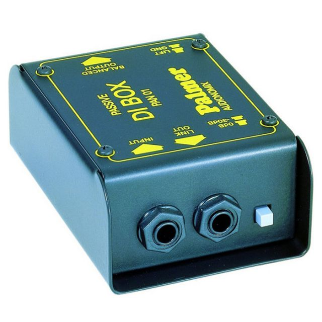 Palmer Audio Tools Palmer Pro Audionomix - Caja de Inyección Directa pasiva