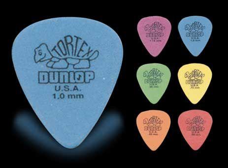 Dunlop Púa Tortex