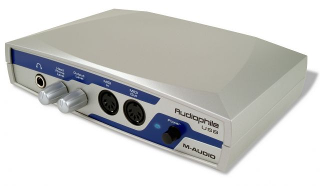 M-Audio Audiophile USB