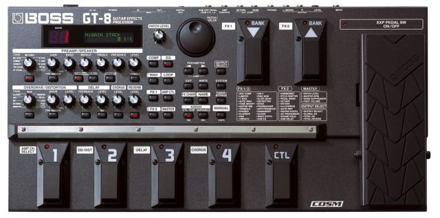 Boss GT-8 Guitar Effects Processor