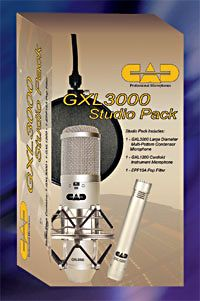 CAD Audio GXL 3000 Studio Pack