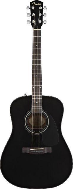 Fender CD-60 - Dreadnought - Black