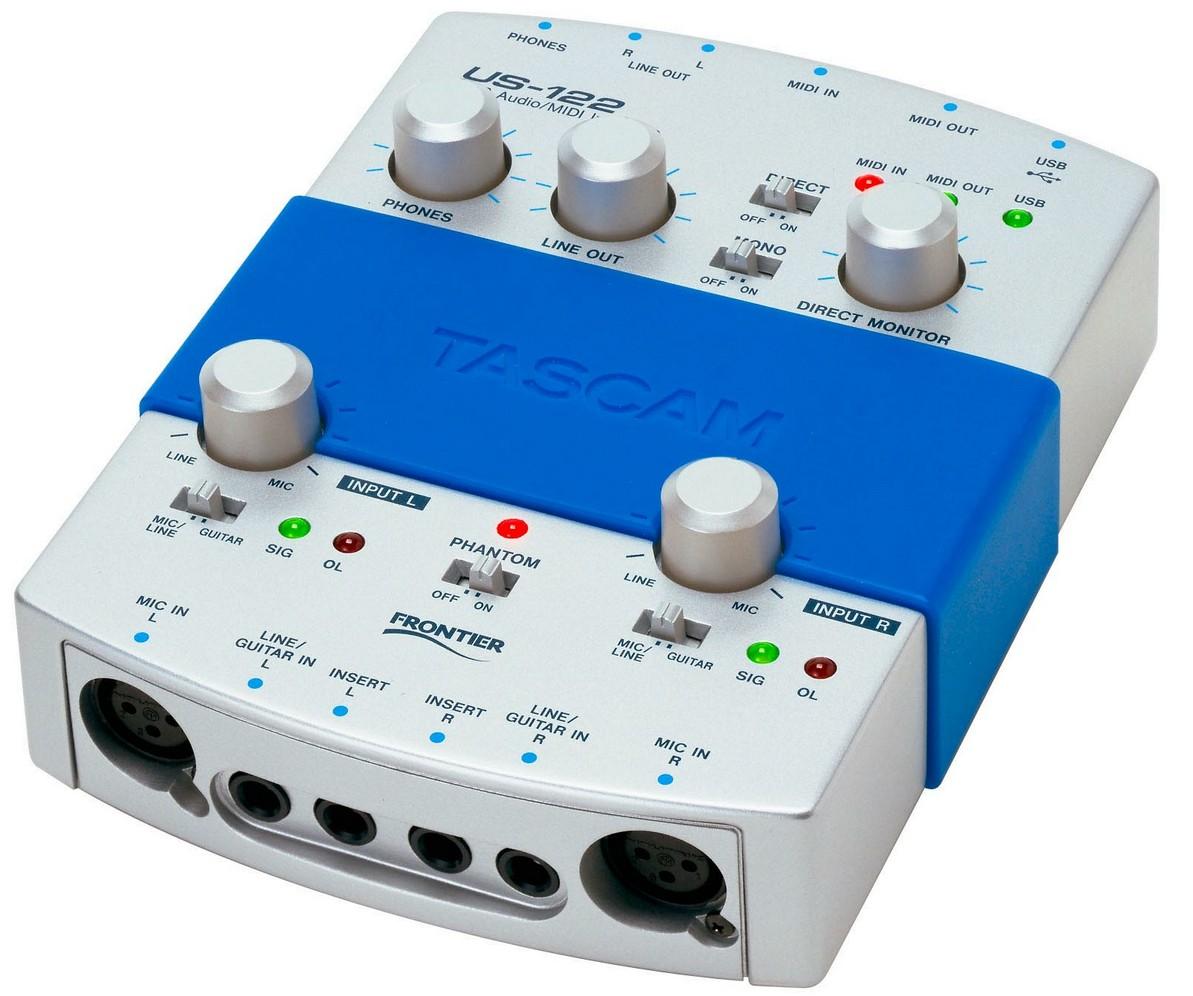 Tascam us-122mkii audio interface user review gearslutz.