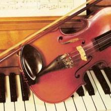 sonata para violin y piano en sol sost. menor  1º mov moderatto
