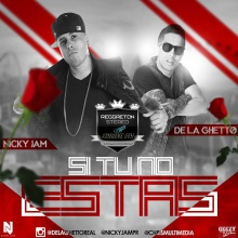 TOP # 1 - Nicky Jam Ft. De La Ghetto - Si Tú No Estás