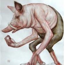 El extraño caso del señor cerdo