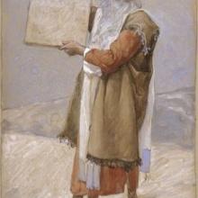 Moisés se adorna