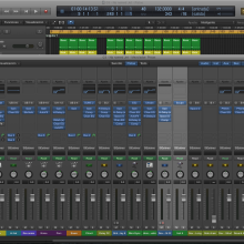 Nuevo sonido - nuevo software - Logic 8)