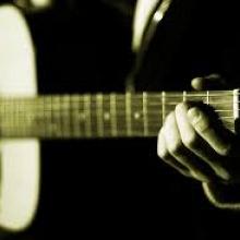 rock blues con una acustica