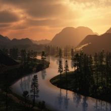 (1/10) Amanecer en el río de los sueños (El pequeño bosque fantástico)