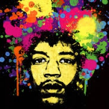 Jimi Hendrix MACHINE GUN - LA abril 70