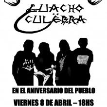 Guacho Culëbra - Destrucción (V8 cover en vivo)