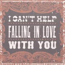 No puedo evitar enamorarme