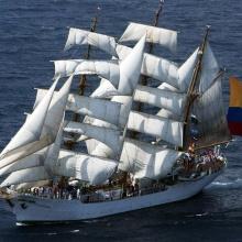 Himno de la Armada Nacional de Colombia. Por Lemaitre y Mejía.