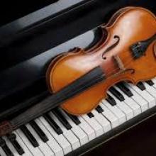 sonata para violin y piano 4 en d mayo 1ºmov allegro molto-adagio