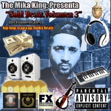 02/gold beats volumen 3,caja ritmo sola,the mika king produce.