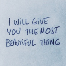 I Will Give You The Most Beautiful Thing