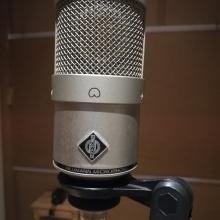 Grabación con microfono M 147