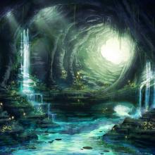 Por la caverna, versión clásica
