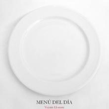 Menú del día (Poema V. Llorente)