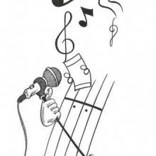 Dibujando el sonido...