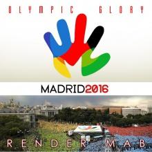 """Olympic Glory"" Madrid 2016 - Render Mab"