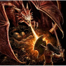 Sigfrido contra el Dragón