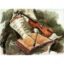 Trio per cuerdas In d Maj