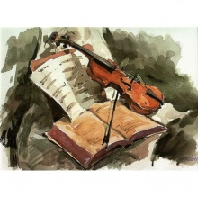 Trio para 2 clarinetes y un fagot