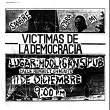 VICTIMAS DE LA DEMOCRACIA EN VIVO
