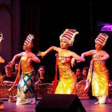 Gamelan dance
